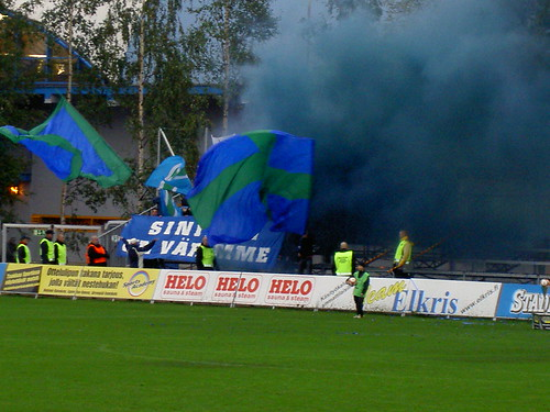 Tampere United supporters