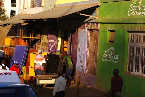 Un altre exemple de botia de SafariCom