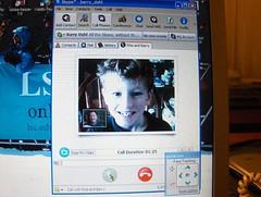Skype screen shot