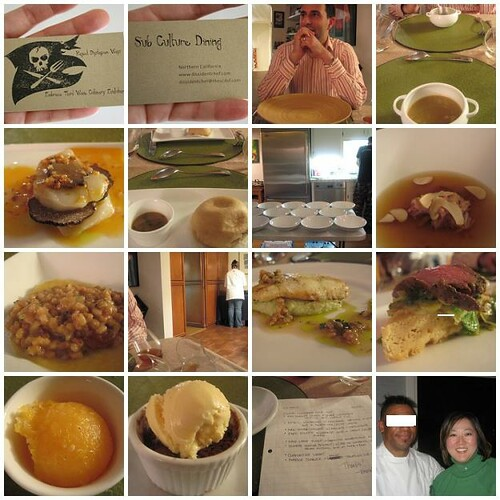 Sub Culture Dining with the Dissident Chef