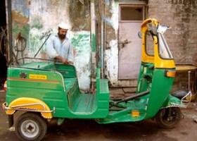 Muslim Rickshaw Driver