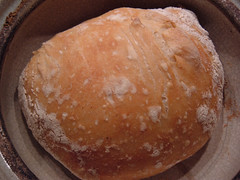 No-Knead Bread - Finished Loaf
