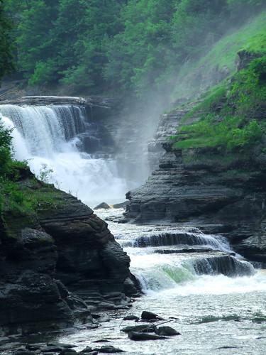 Genesee River falls