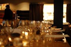 Wine Dinner Setting