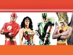 Heróis DC, por Alex Ross