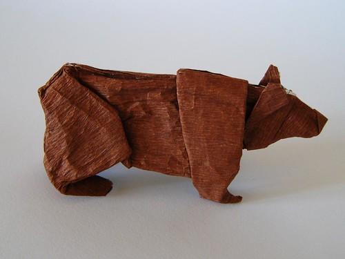 oso papiroflexia