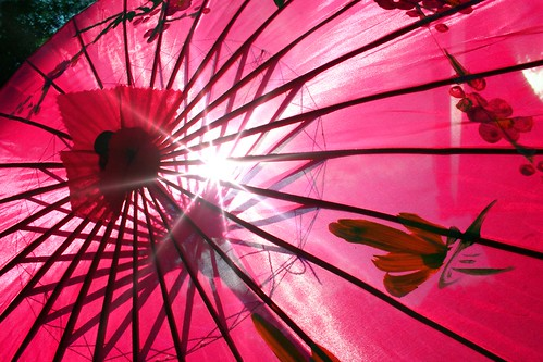 Pink Parasol by Heaven's Gate