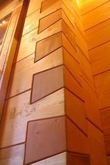 Interlocking wood