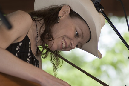 Gillian Welch at MerleFest 2005