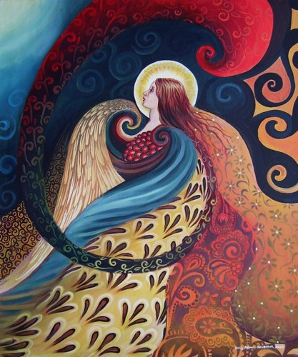 Feathered Goddess by Emily Balivet