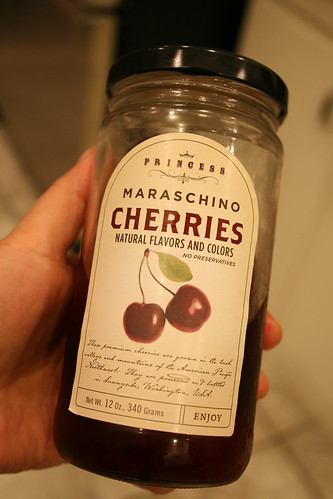 mrmmm maraschino cherries.  without artificial color!