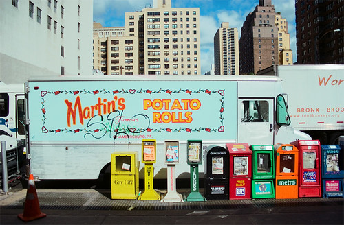 14th and 2nd ~ martin's famous potato rolls