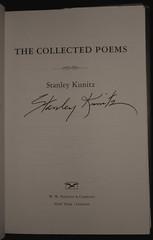 Kunitz autograph