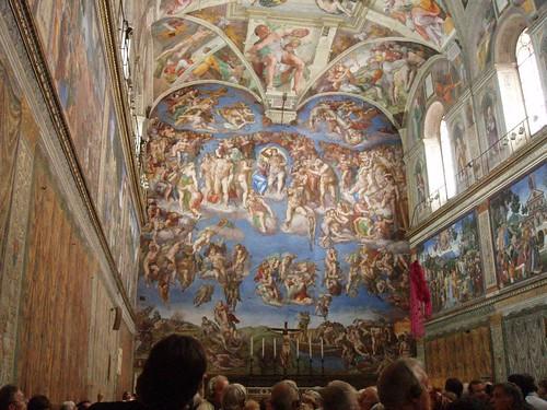 Musei Vaticani -Cappella Sistina, el Juicio Final (Roma)
