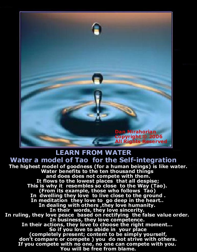 Taoist water beliefs