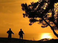 Torrey Pines Golf Course - Sunset