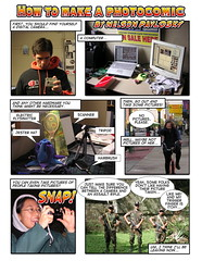 How to make a photocomic, page 1