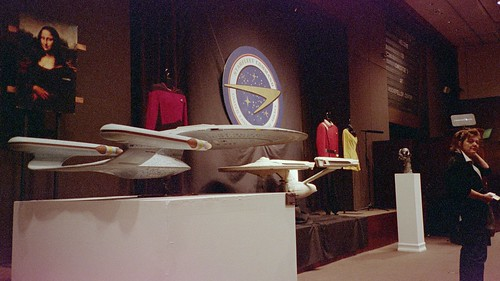 Lots at Christie's Star Trek auction