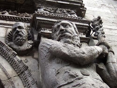 Amenazante mamporrero en el Palacio de Justicia