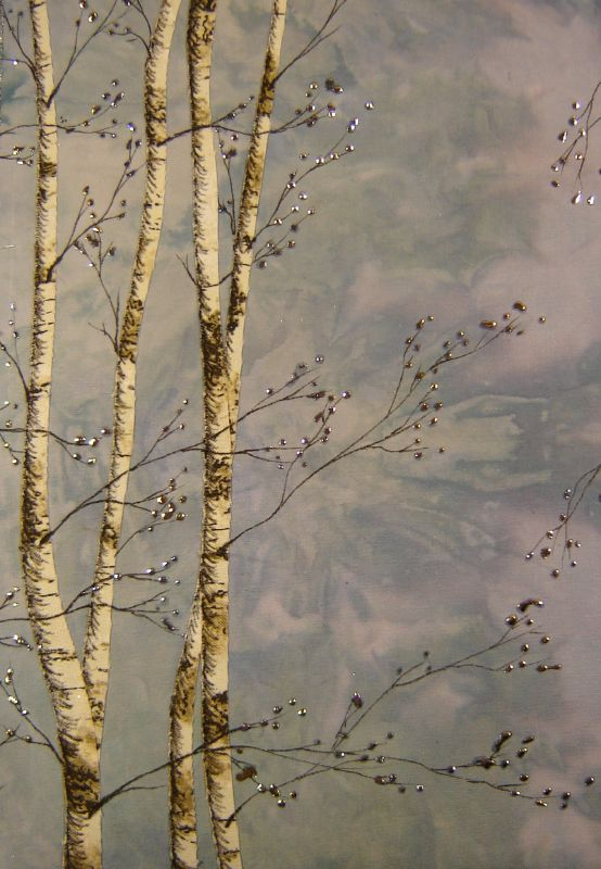 blue birches detail 1