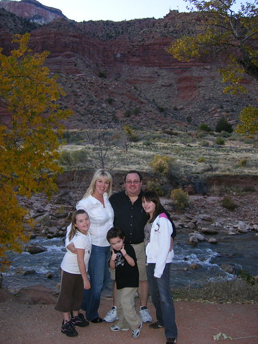 Clark Family at Zion