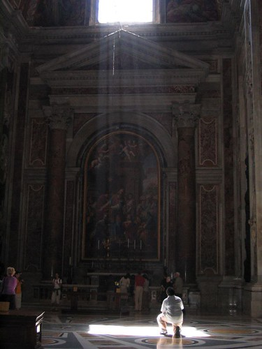 Paying Homage in St. Peter's