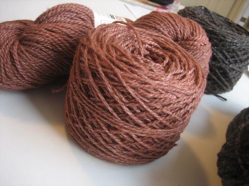Foxfire Fiber Silk/Wool Cormo