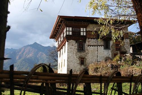 Arquitectura tradicional del Bhutan