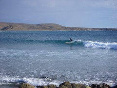 Baja surfing