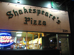 Shakespeare's Pizza in Columbia, MO