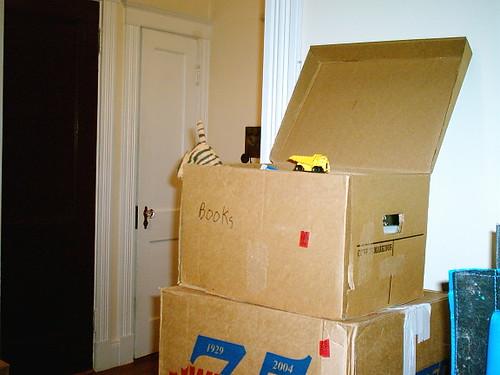 Blake helps unpack