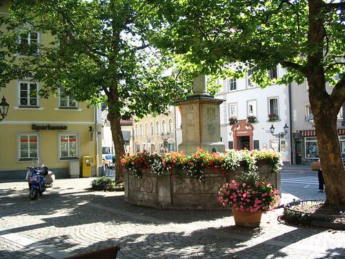 Bavarian village well