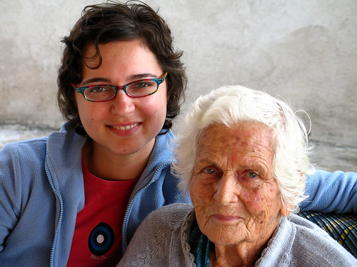 My grandma & I
