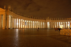 St. Peter Square night impressions