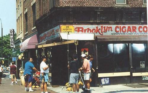Photo de tournage à Brooklyn