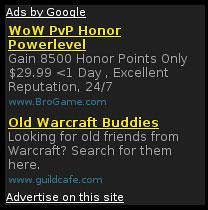 Google AdSense sideblock
