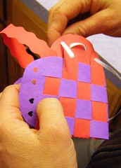 (c) Hilltown Families - Making Swedish Paper Hearts