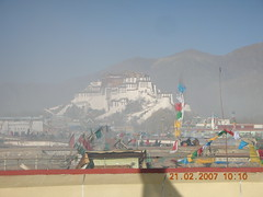 Lhasa Rooftop with incense