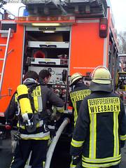 Reihenhausbrand Bierstadt 21.12.06