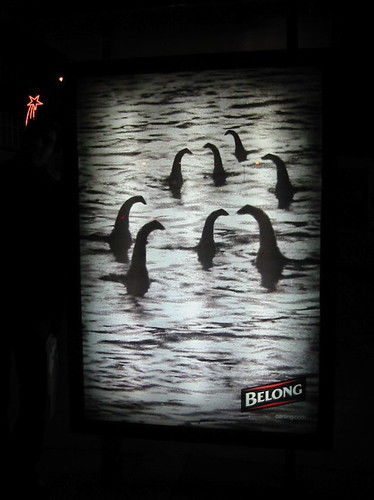 Carling Belong bus stop ad from 2006