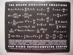 The Grand Challenge Equations: San Diego Super...