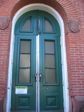 Eastern Market door
