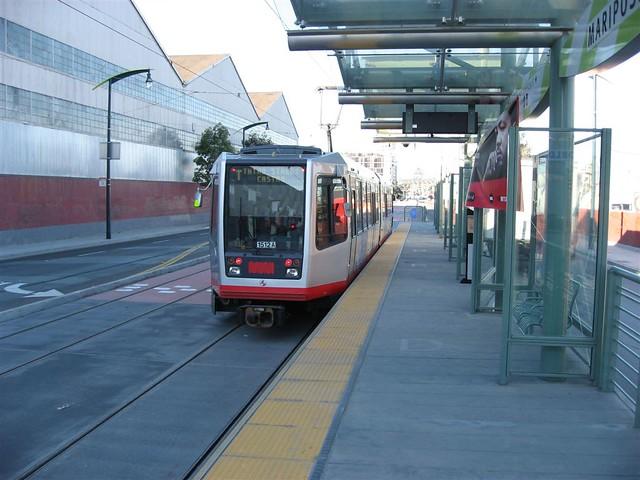 T-Third: Mariposa Station (northbound)
