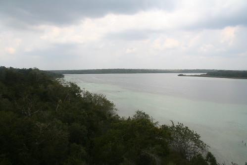 Laguna Azul, from the tower