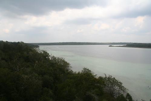 Laguna Azul, from the tower