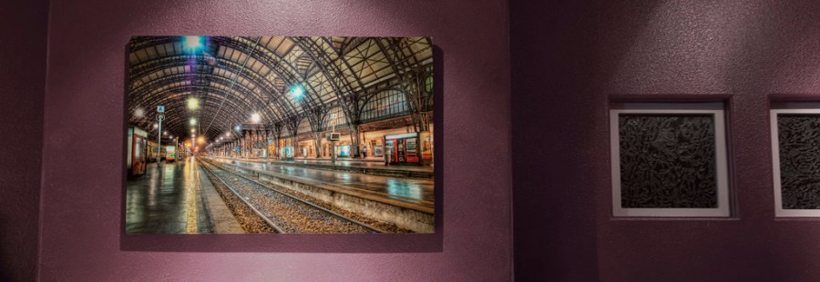 Milan Train Station on the Wall