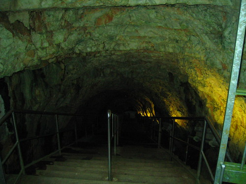 Entrance to Castellana Grotte