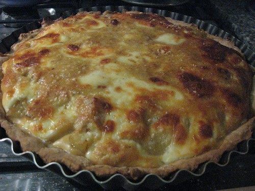 onion soup-potato quiche