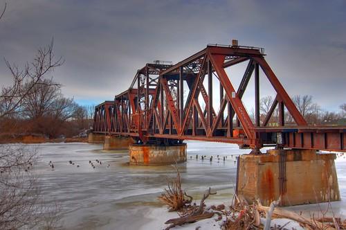 Saginaw Train Bridge