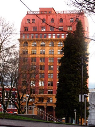 dominion building from bus stop